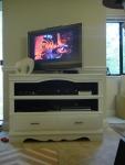 Dresser turned TV Stand