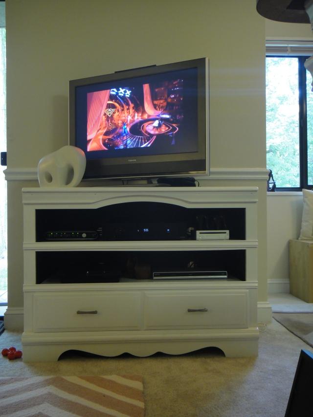 Dresser TV Stand After