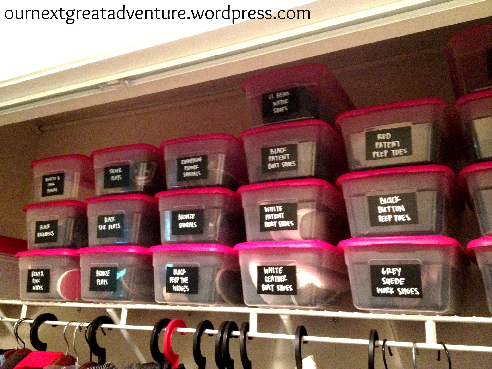 Marvelous Organizing Shoes In A Small Closet #25 - I With Shoes Closet Ideas