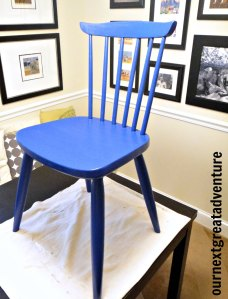 Yellow Chair Blue: The DIY Chalk Paint Adventure Continues