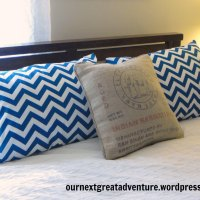 Master Bedroom Pillow Makeover