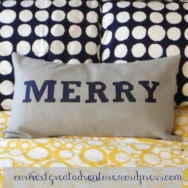 Reverse Applique Pillow Cropped