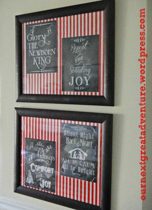 Christmas Corner - Chalkboard Prints 1