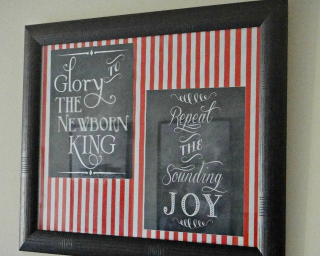 Christmas Corner - Chalkboard Prints 2