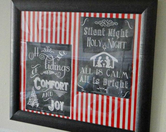 Christmas Corner - Chalkboard Prints 3
