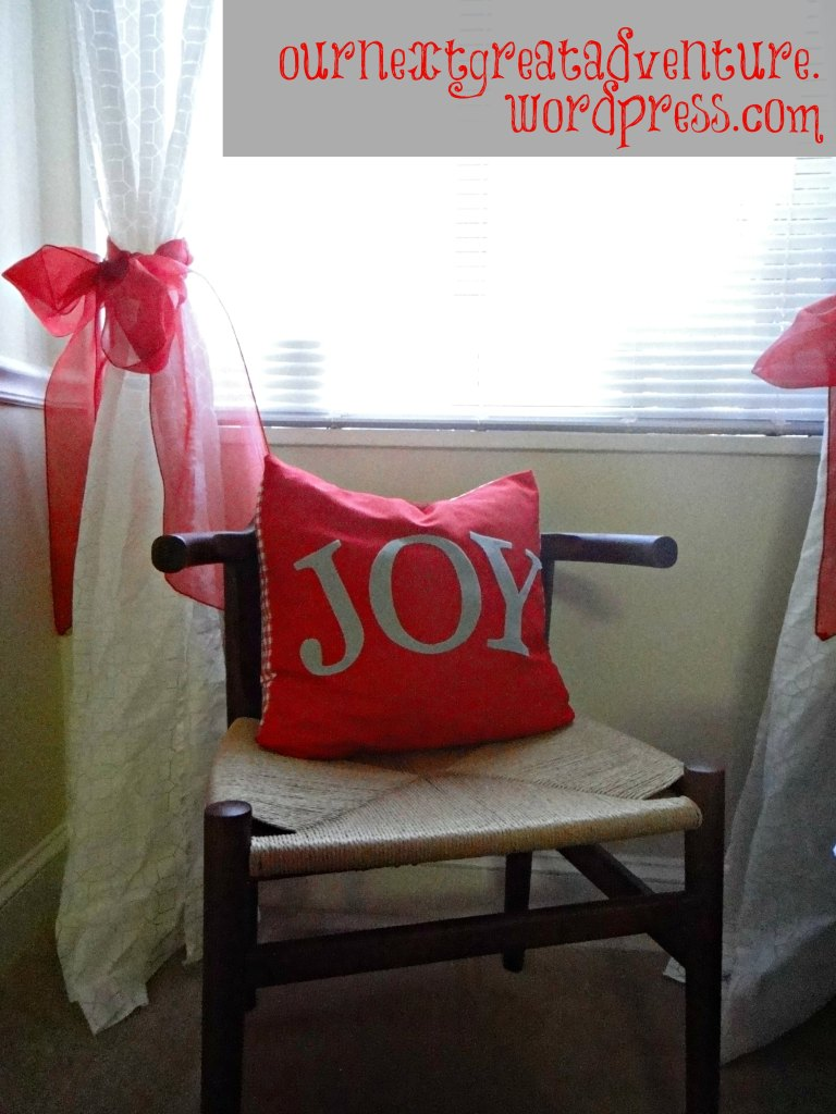 Christmas DIY Felt Applique Pillow