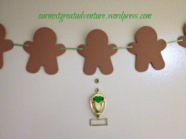 Christmas House - Gingerbread Men on the Door