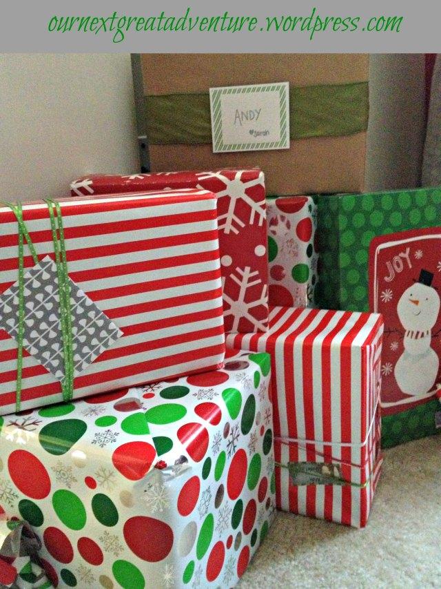 Christmas House - Present Pile
