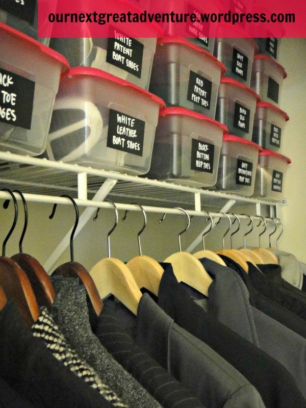 Shoe Closet Organization Hangers