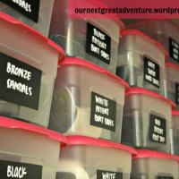 Organize On! My Shoe Closet meets Chalkboard Labels
