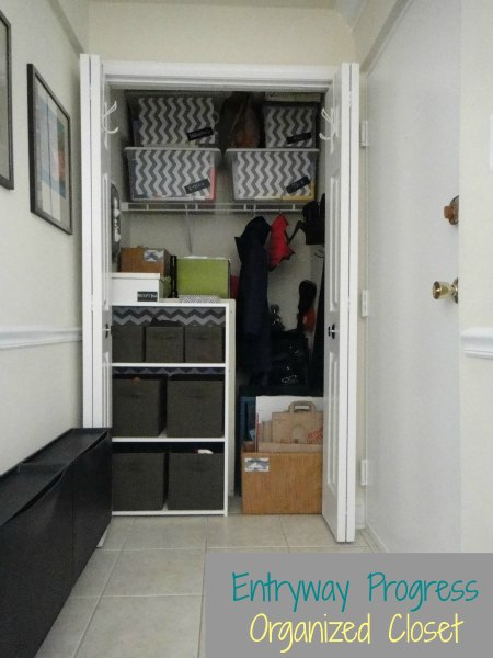 Foyer Closet Storage Ideas : Entryway storage and organization interior design ideas