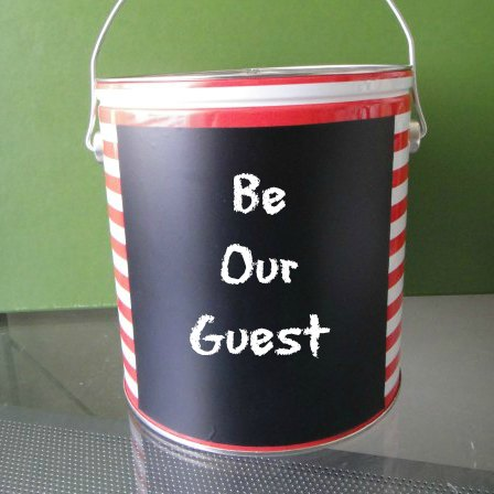 GR Popcorn Bucket - Example note