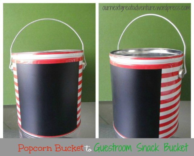 Guest Room Snack Bucket