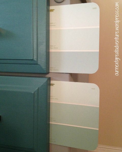 Nightstand Paint Chip Choices