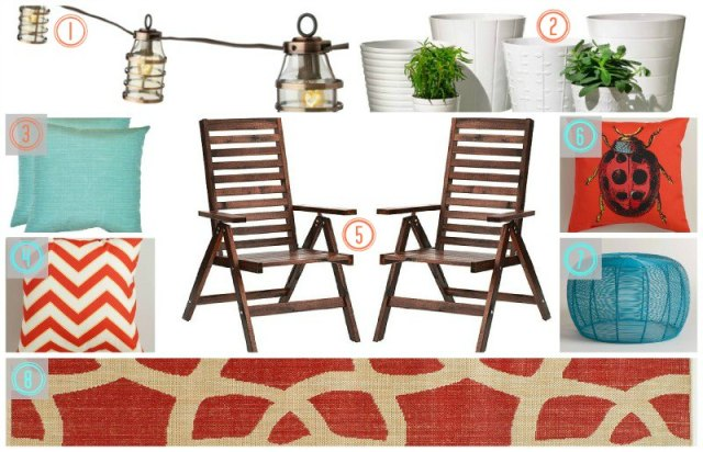 Summer Patio - Favorite Finds Numbers