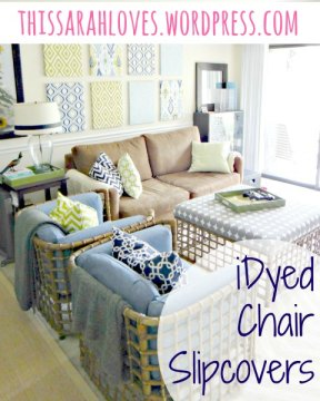 iDyed Chair Slipcovers
