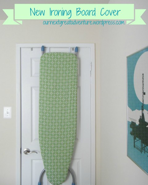 Ironing Board Cover in the Guest Room