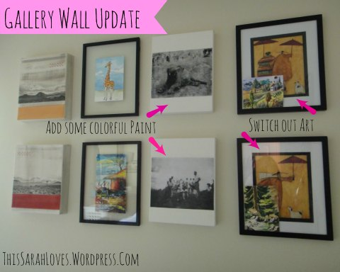 Canvas - Photo Transfers in a Collage Wall To Do List