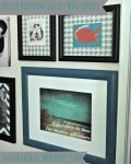 Adding Teal to the Gallery Wall