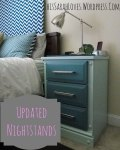 Updated Nightstands with DIY Chalk Paint