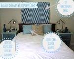 Master Bedroom - Chevron Canvas