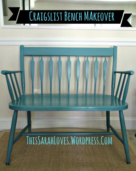 Craigslist Bench in Harbor Blue