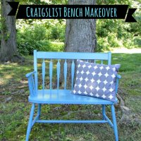 It's Amazing What People Will Give Away: The Bench