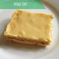 Lime and Condensed Milk Fridge Tart