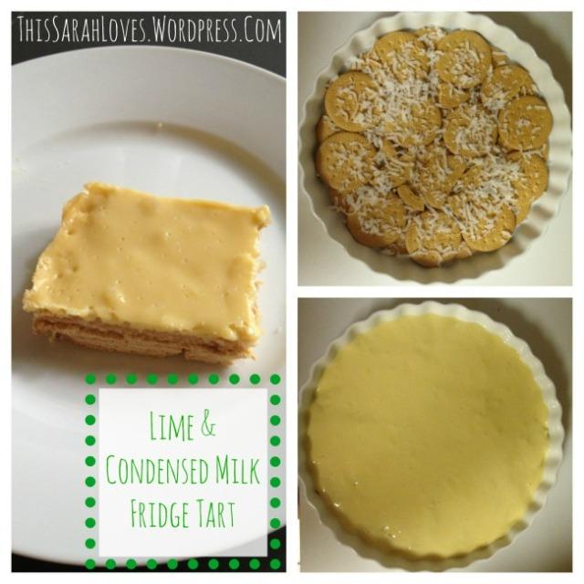 Lime and Condensed Milk Fridge Tart - #thissarahloves