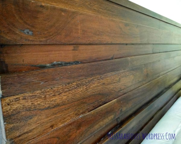 Guest Room - Furniture Fixup Headboard 4 - #thissarahloves