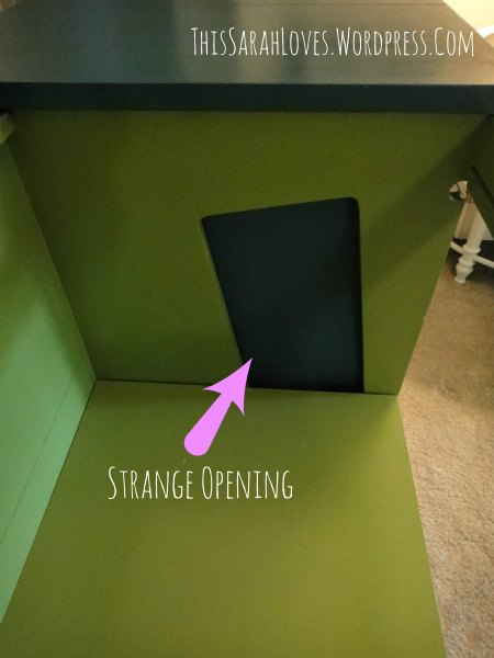 Retro Stereo Cabinet Makeover - Strange Opening - #thissarahloves