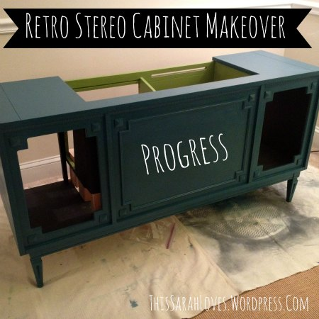 Summer Projects - Stereo Cabinet - TwoStepsForward