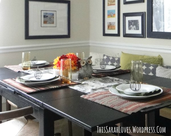 Easy Fall Table for Four - ThisSarahLoves