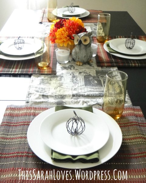 Easy Fall Table - ThisSarahLoves