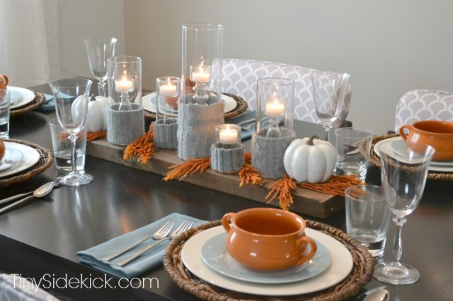 fall table TinySidekick
