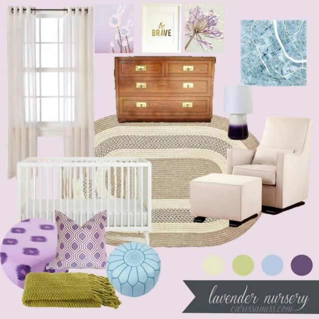 Lavender Hues Nursery - CarissaMiss