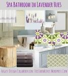 Lavender Hues Spa Bathroom