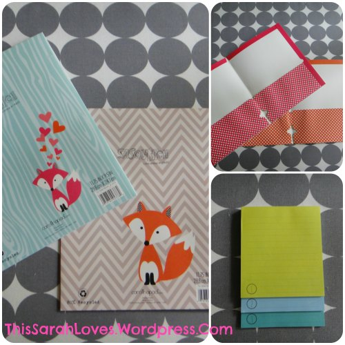 Office Supplies - Foxes on Folders - Details #thissarahloves
