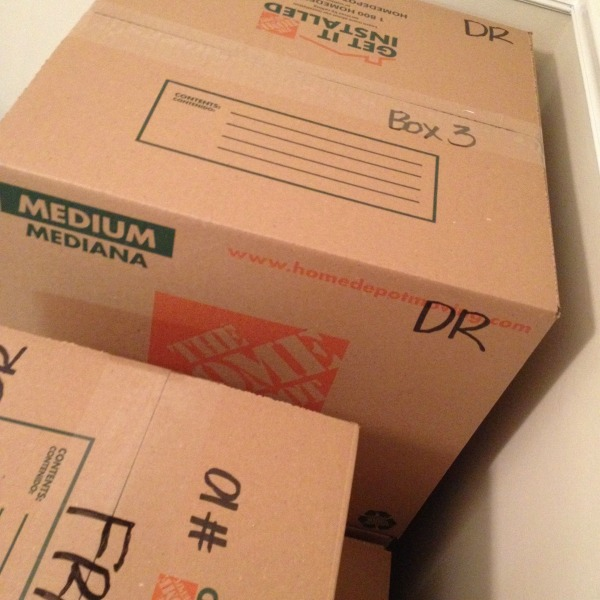 Moving - New Art Installation - Box #thissarahloves
