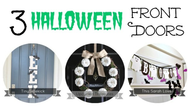 halloween front door banner