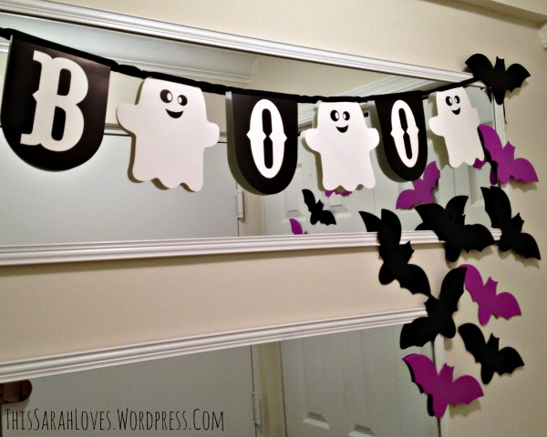 Halloween Front Door Bats