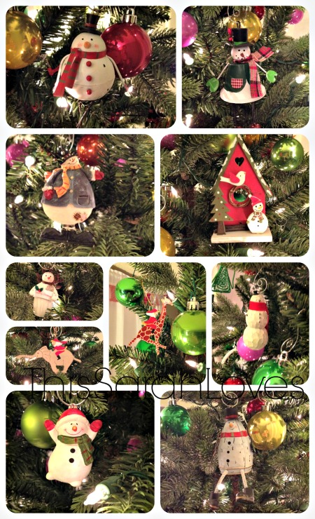Christmas Snowman Collection #thissarahloves