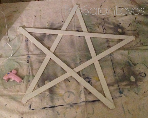Christmas Yardstick Star 2 - #thissarahloves