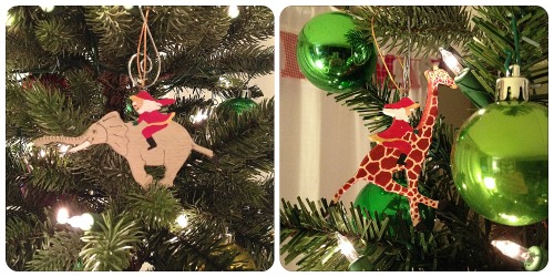 Kenya Ornaments #thissarahloves