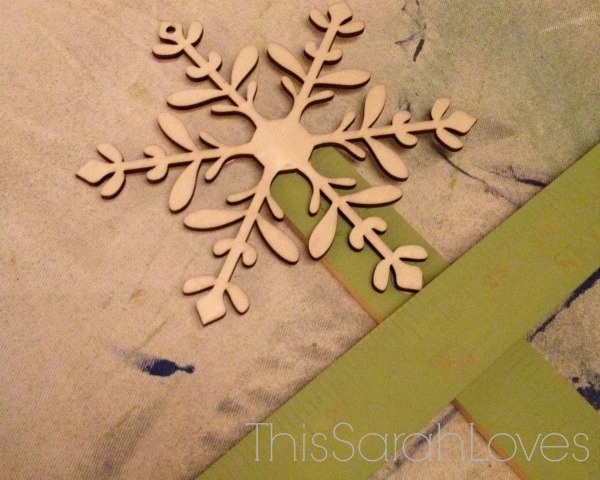 Yardstick Card Tree - #thissarahloves - Treetopper