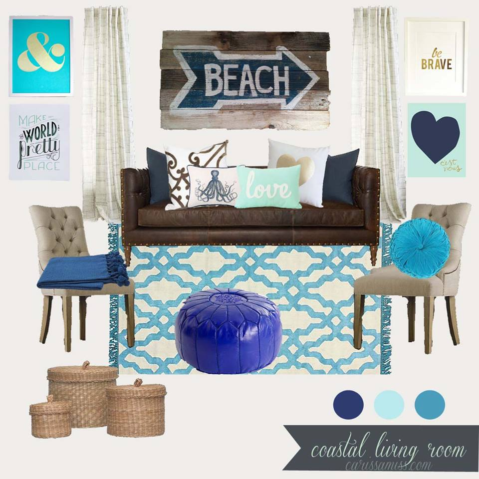Carissa Miss - Coastal Living Room