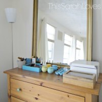 Organizing the Dresser Top