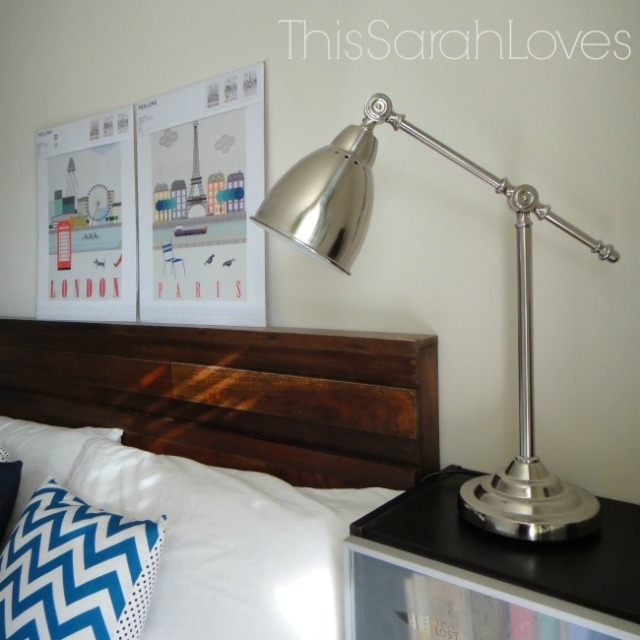 Guestroom - Preview - Pharmacy Lamp #thissarahloves