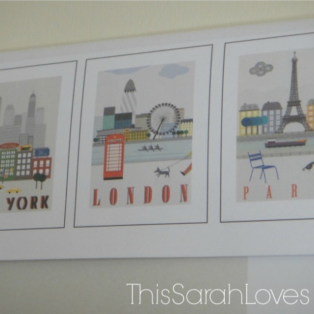 Guestroom - Travel Art Prints  - London Paris NewYork #thissarahloves