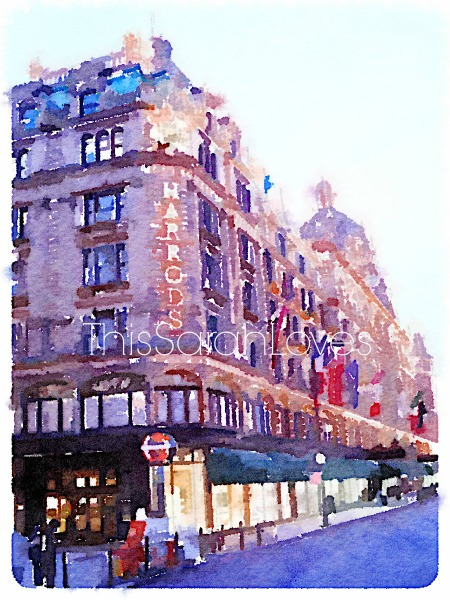 Water Color - London - Harrods